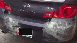 Dent Gypsey Bumper Repair On Car